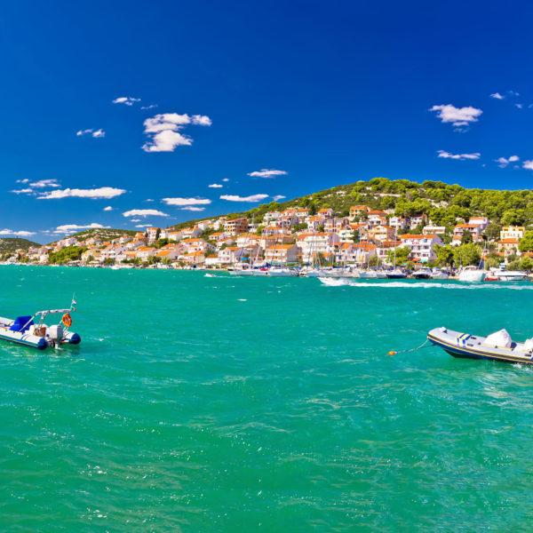 Turquoise summer destination - Tisno village, Island of Murter